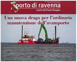 La dragaggi srl - Porto di Ravenna - gennaio 2016