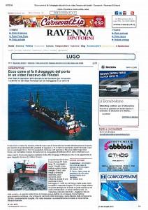 La dragaggi srl -Ravenna dintorni - febbraio 2016