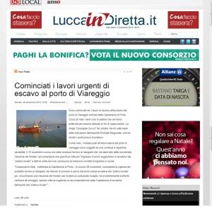 La Dragaggi - Lucca in diretta