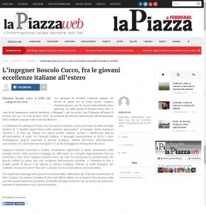 La Piazza - Febbraio 2015 Stefano Boscolo Cucco