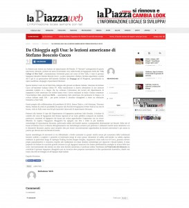 La Piazza - Febbraio 2016 Stefano Boscolo Cucco