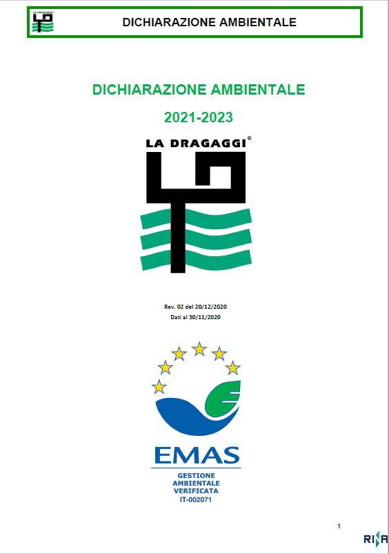 emas dichiarazione ambientale